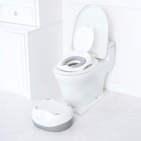 3-in-1 multi potty and step stool