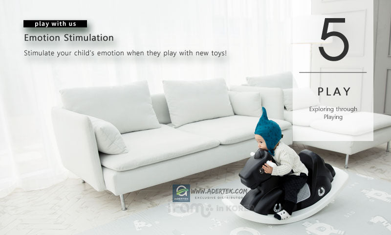 Stimulate your baby emotion through playing
