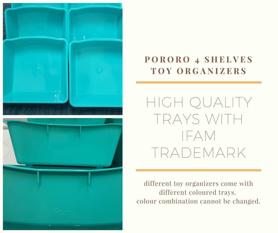 Trays for Toy Organizers