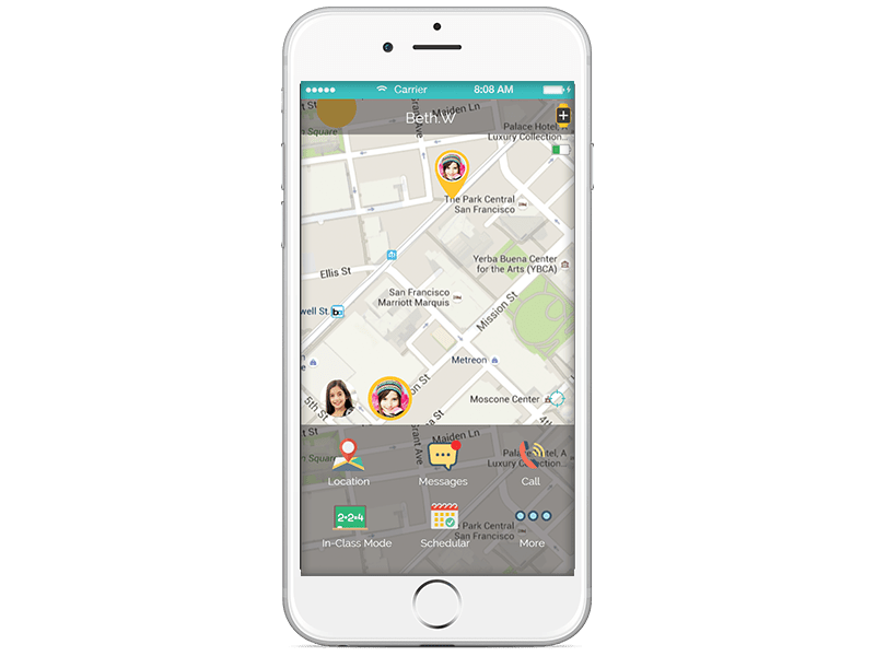 Track your child location with smart locator