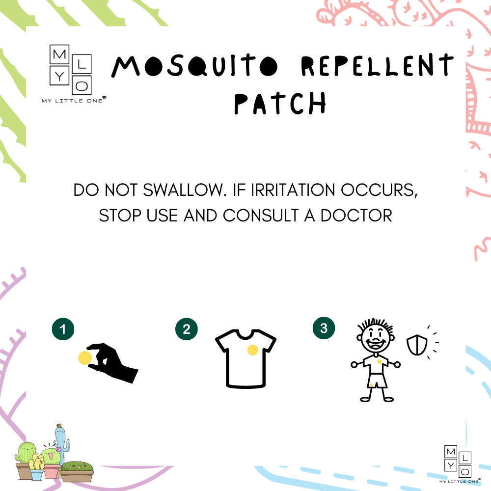 How to Use MyLO Moquito Repellent Patch
