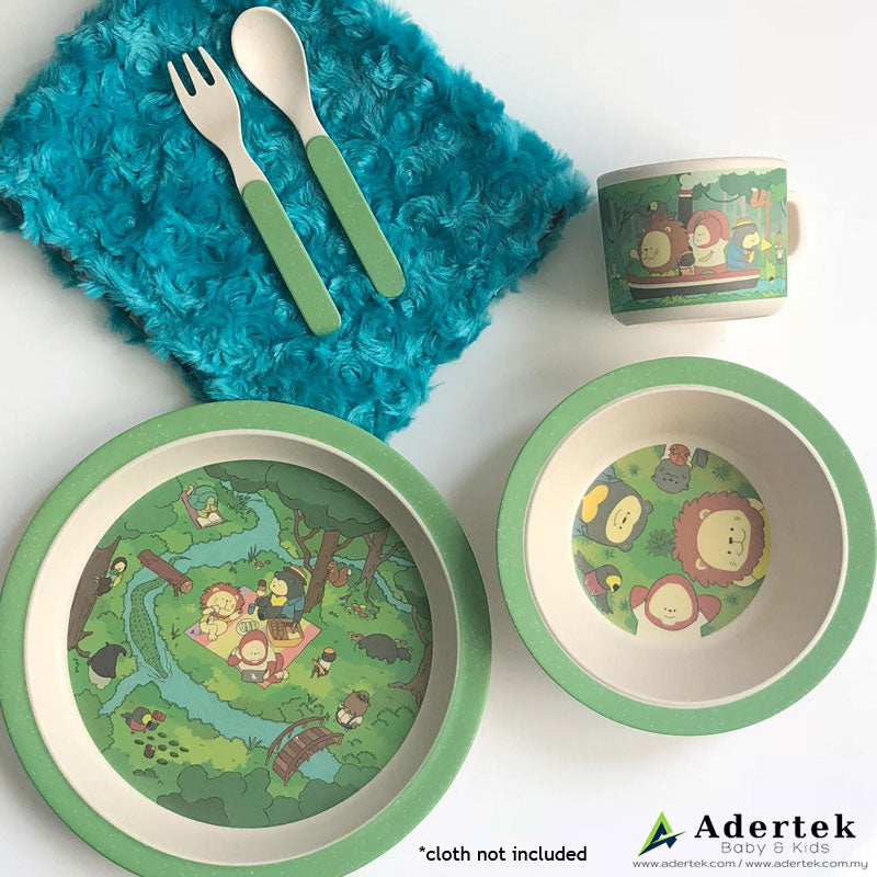 Rainforest Family Cutlery Set