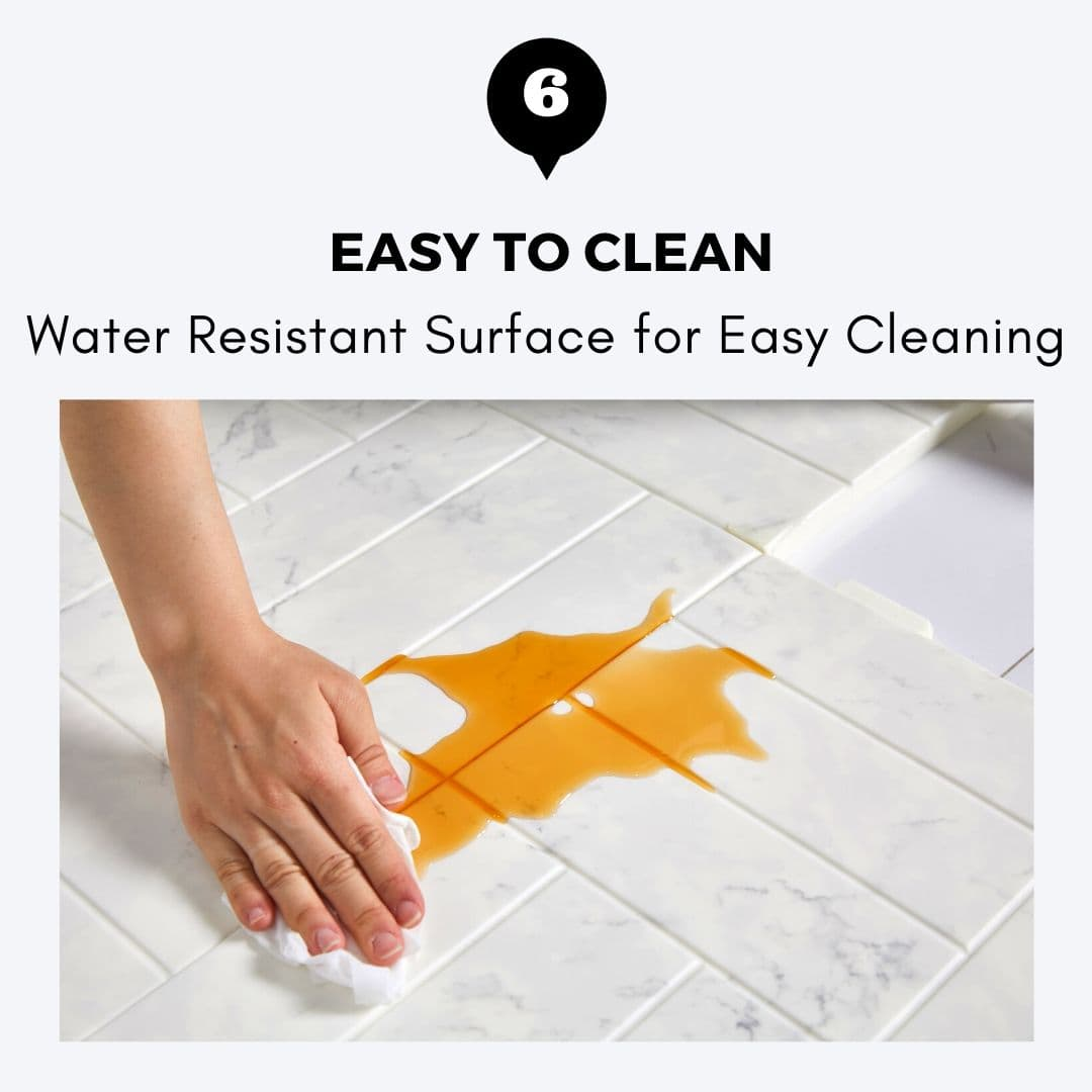 ALZiP Puzzle Mat Easy To Clean - Waterproof Surface