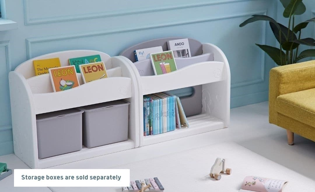 Easy Wave Bookshelf Minimalist Design Fit Perfectly To Any Interior Design