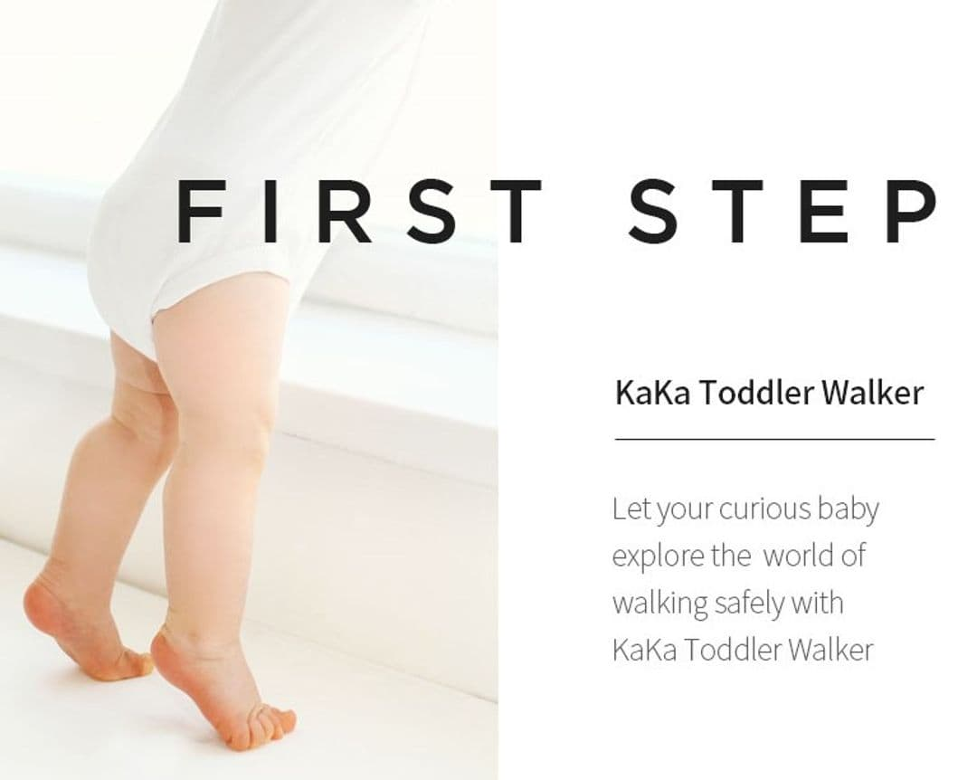 KAKA Toddler Walker Helps Baby To Walk More Stable