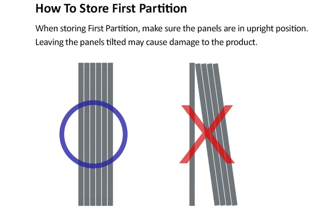 How To Store Takemehom First Partition