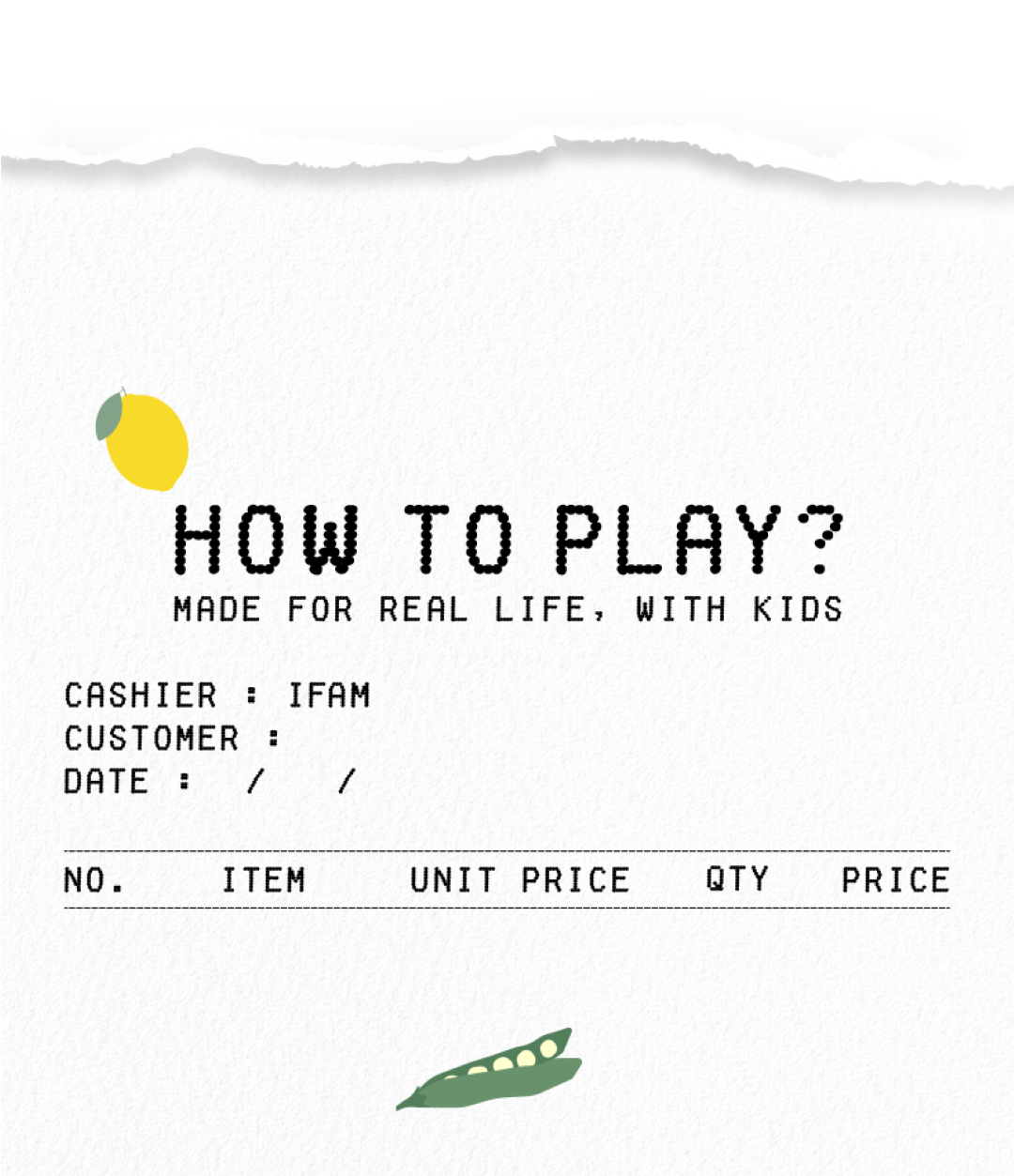 How To Play Happy Market Playset