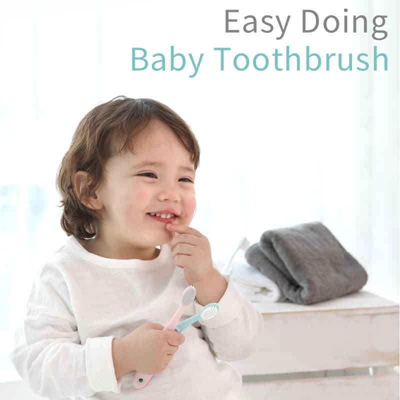 IFAM Easy Doing Baby Toothbrush for Kids and Toddlers