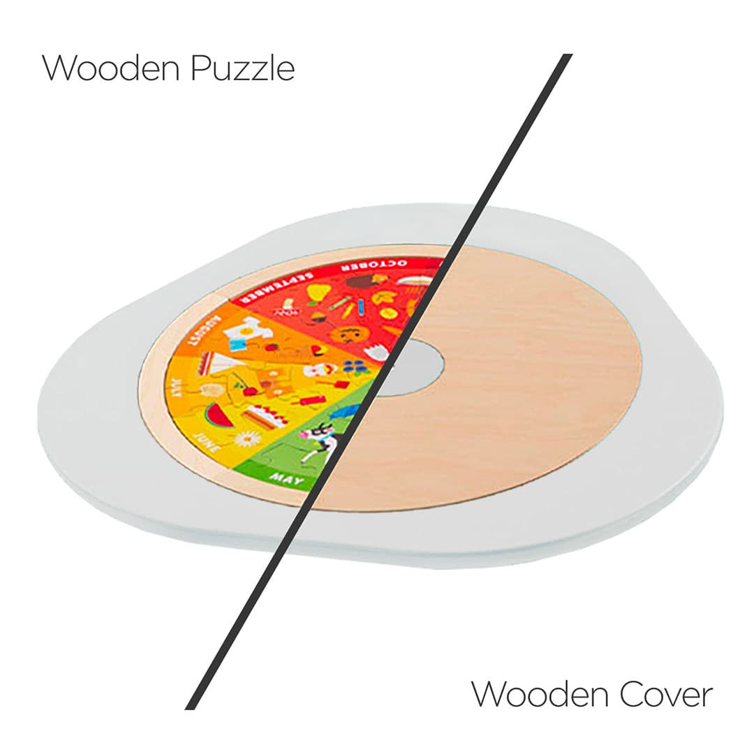 Cover and Puzzle board for young kids