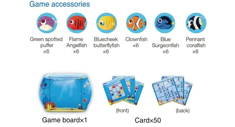Magnetic Sudoku Game Tropical Fish Game Accessories