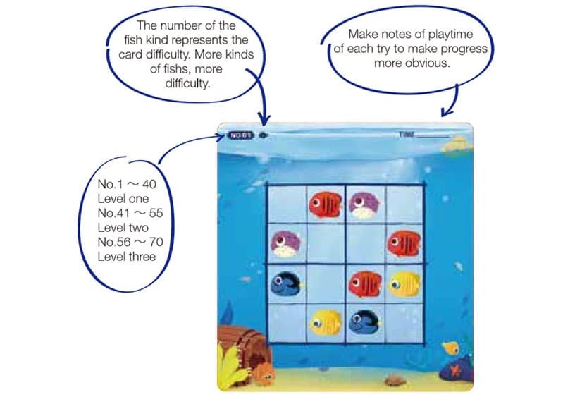 Magnetic Sudoku Game Tropical Fish Game Preparation