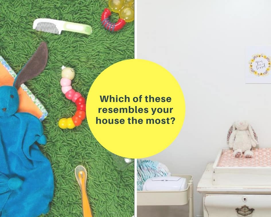 Is your child play area messy?