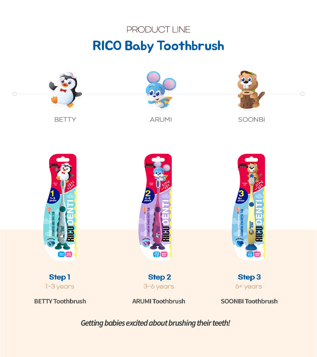 Other RICO Baby Toothbrush
