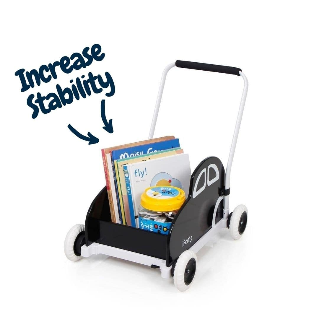 Improve the stability of KAKA Toddler Walker by adding weight (such as books or toys)