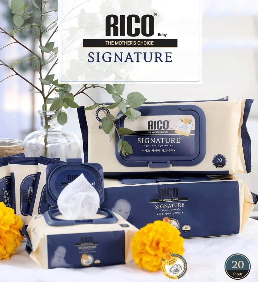 Rico Signature Baby Wet Wipes