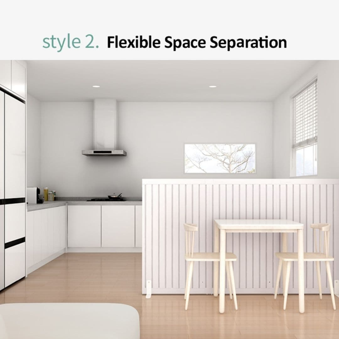 Flexible Space Divider - Takemehom First Partition