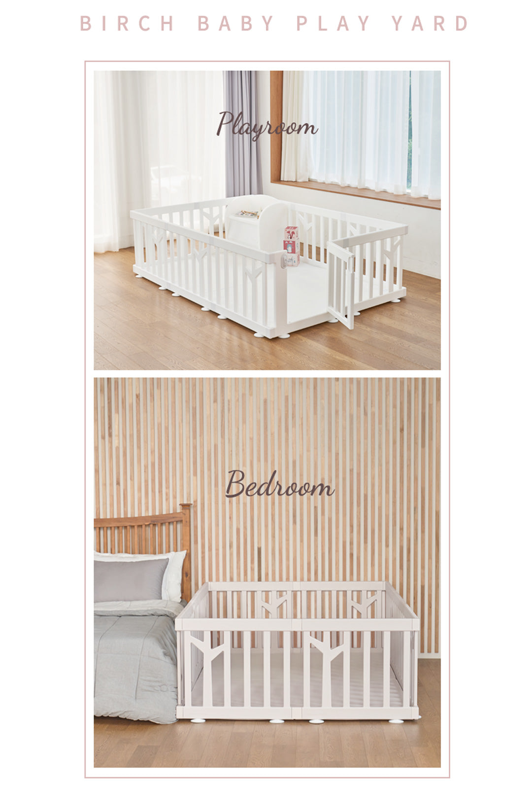 birch play yard fit anywhere in home