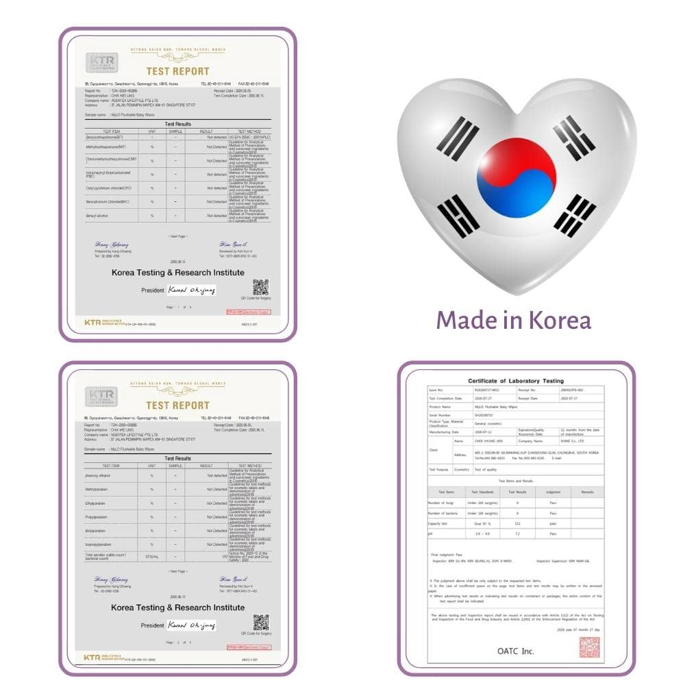 Made & Tested in Korea