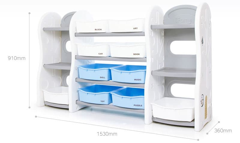 Design Toy Organizer Premium Dimension