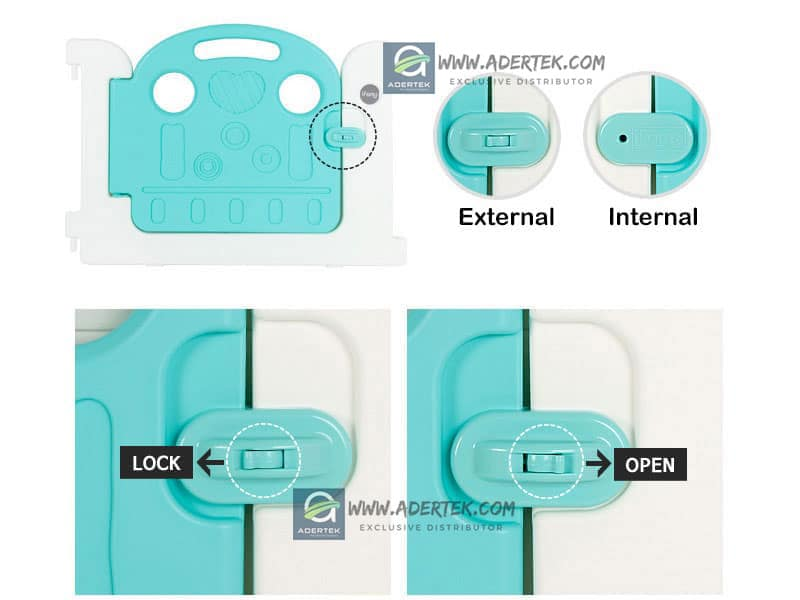 IFAM Baby Play Yard Door Lock