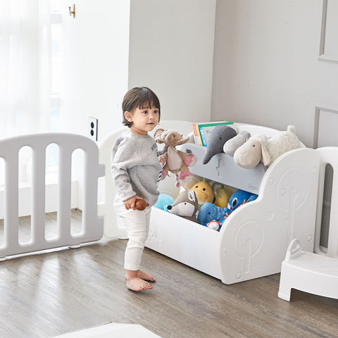 Easy Double Storage Organizer suitable for toys and books storage