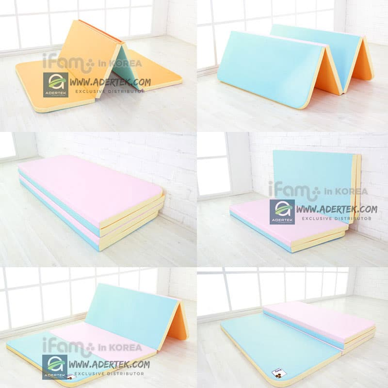 IFAM Baby Mat are foldable and easy to keep