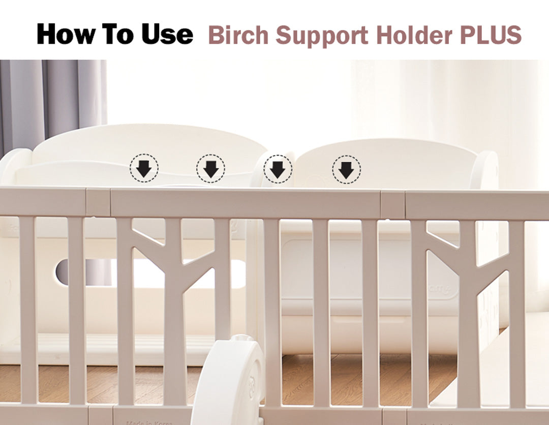 How to use birch support holder plus