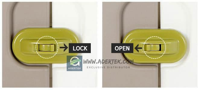IFAM Baby Play Yard Door Lock features