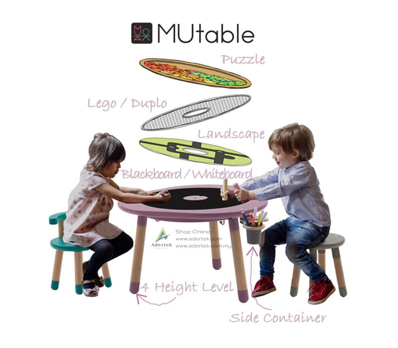 Optional MUtable accessories to enhance your kids play experience
