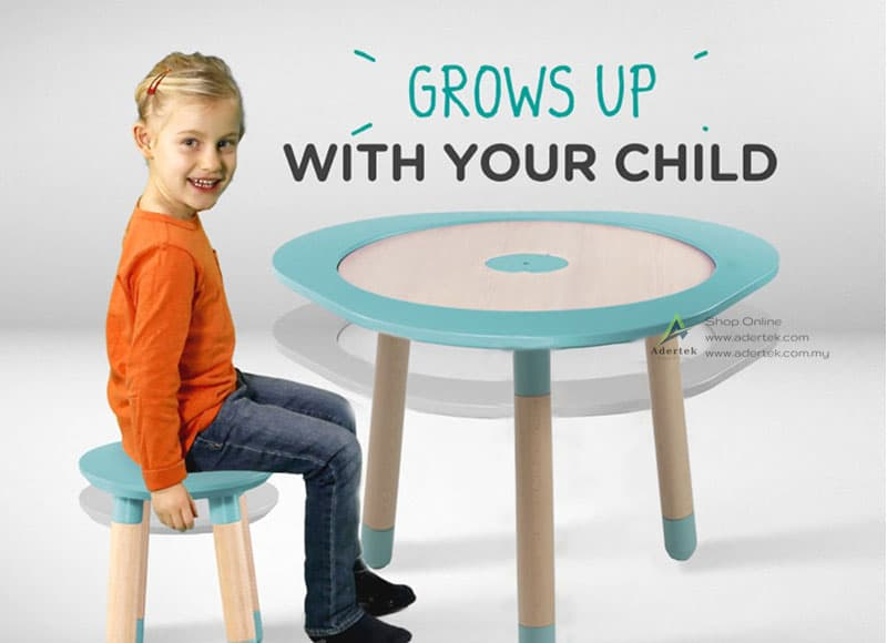 MUtable grows up with your child from 1-8 years old