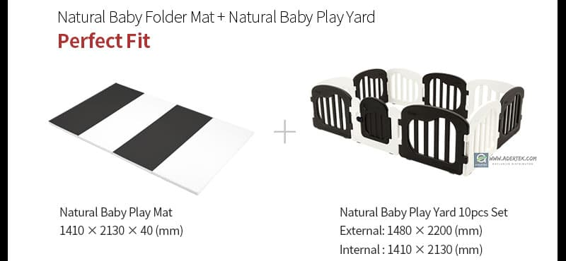Perfect fit play mat for IFAM Natural Baby Play Yard