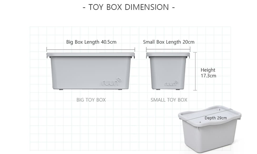 Easy Bookshelf Toy Box Dimension