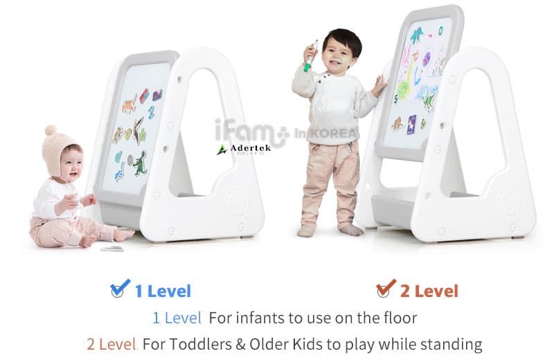 2 level for infant and toddler play time