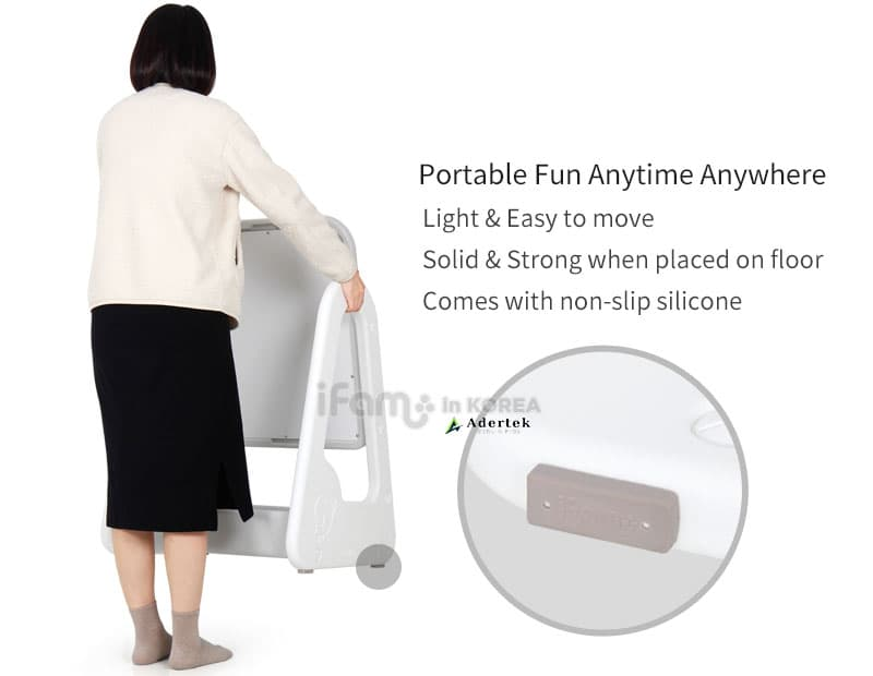 Light weight and portable - suitable for anywhere in the home