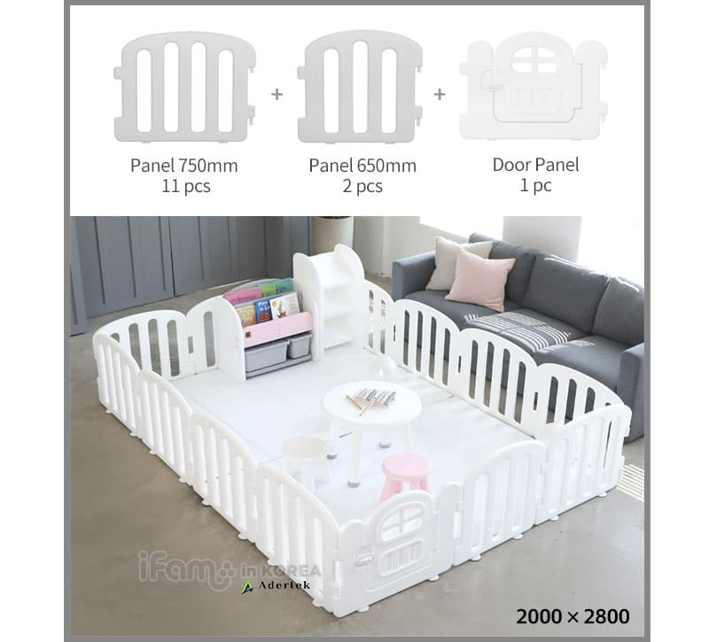 Fitting for 14pcs Baby FIRST Play Yard setup