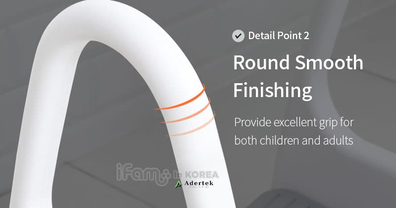 Excellent finishing to ensure safety for kids usage