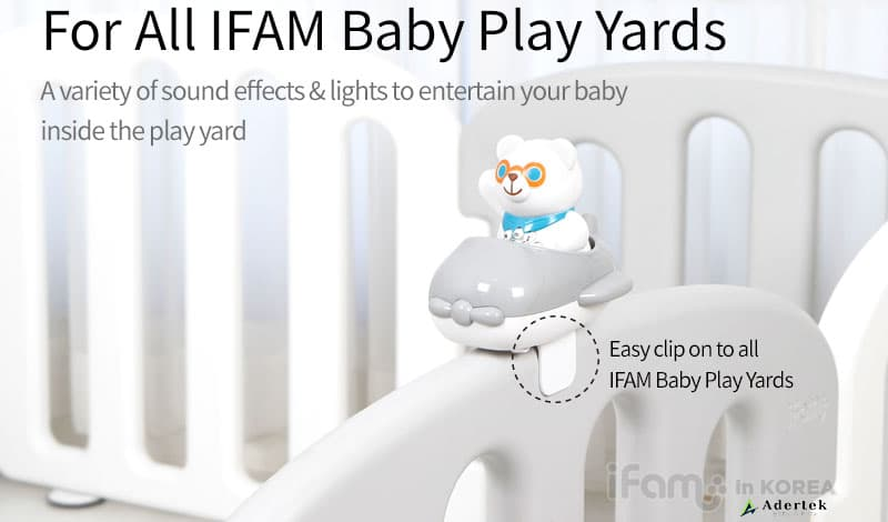 The 1st ever toy for IFAM Baby Play Yard