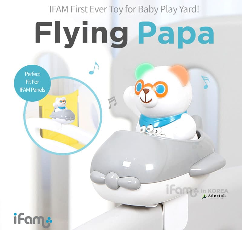 2-in-1 Flying PAPA with Aeroplane