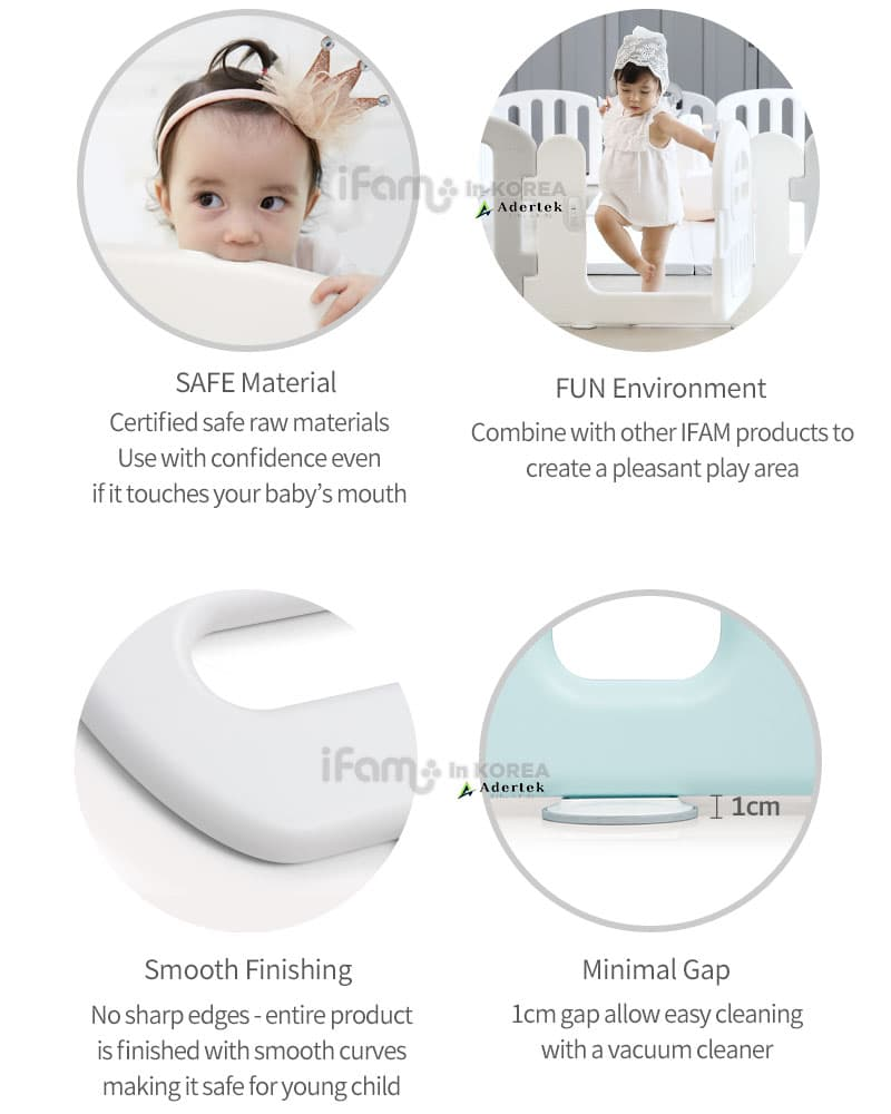 Unique features of IFAM Baby Play Yard