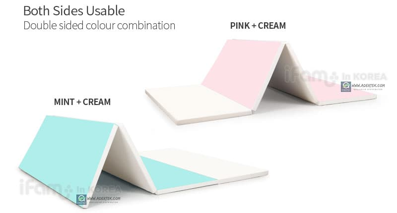 Mint+Cream or Pink+Cream on each side