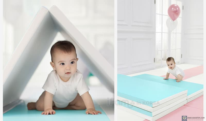 LOVE U Foldable Baby Play Mat