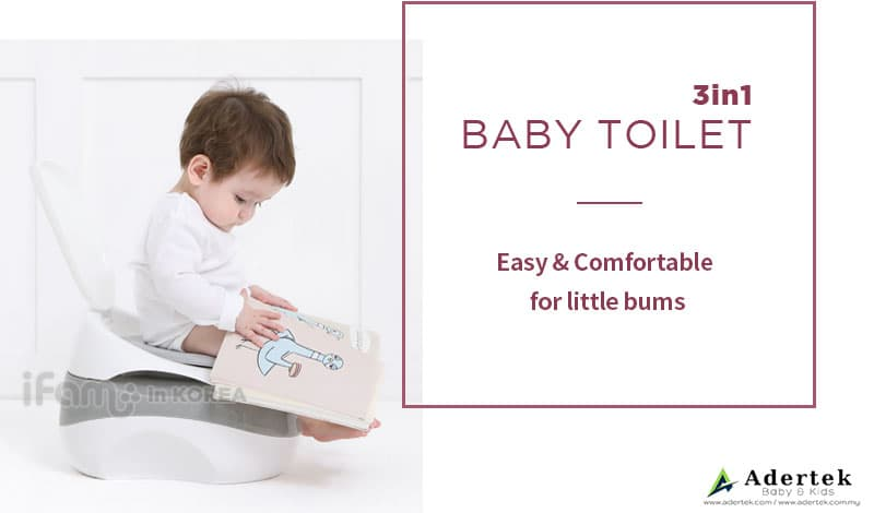 Comfortable toilet seat for your child's little bum
