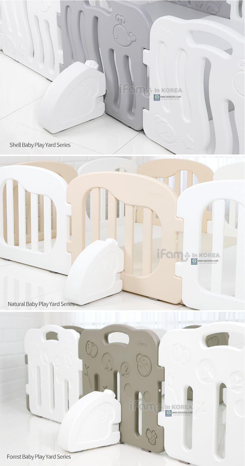Use it together with any IFAM baby play yards easily