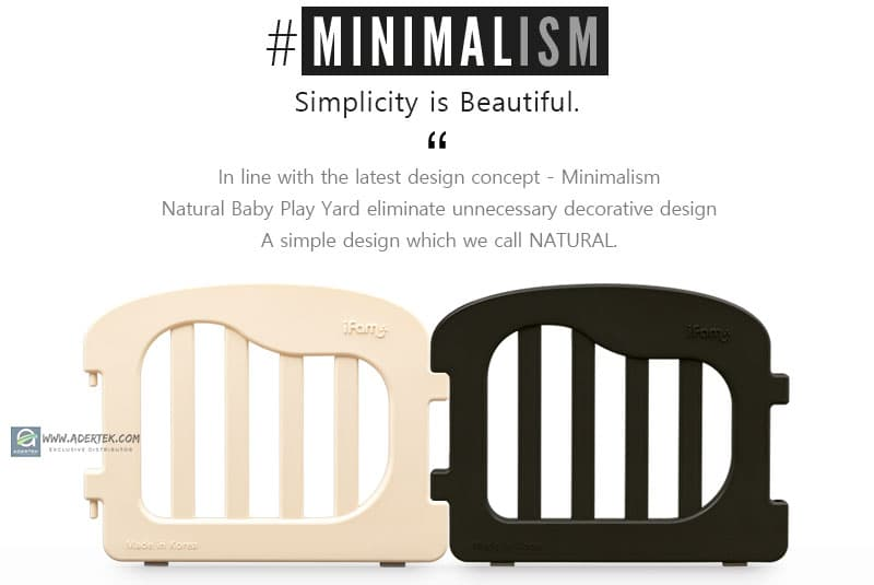 #Minimalist - in line with latest designing concept, Minimalist.