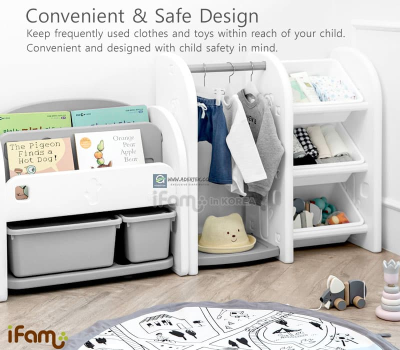 Convenient & Safe design for your little one. Designed with safety in mind.