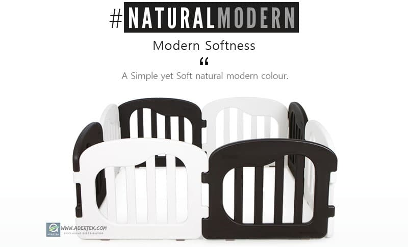 #NaturalModern - a simple yet soft natural modern colour for designer home