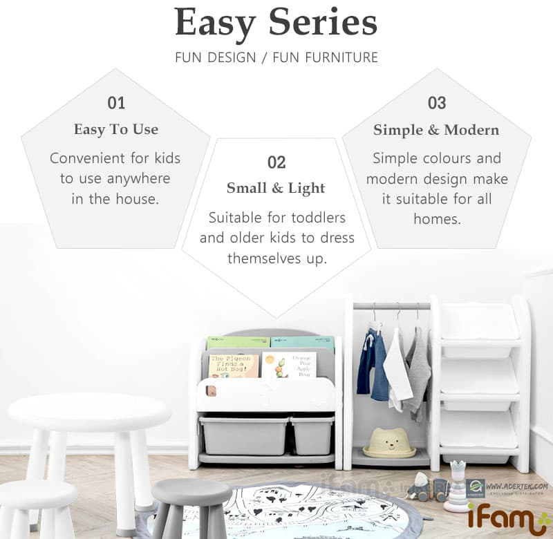 Easy to use, small & light, simple & modern for any designer home.