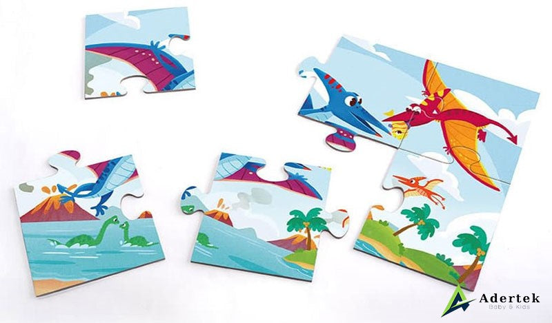 TOI 4 in 1 puzzles dinosaurs