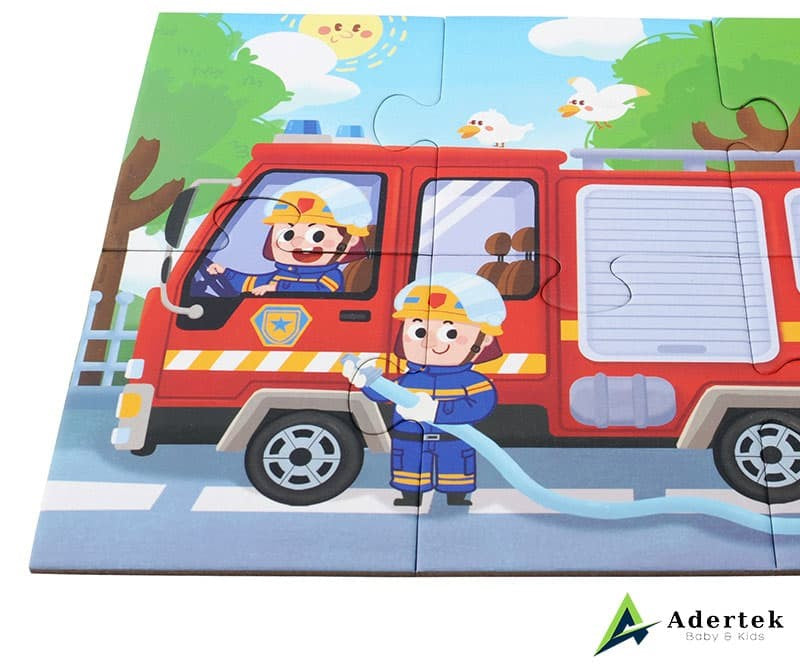 TOI 4-in-1 Puzzle Firemen