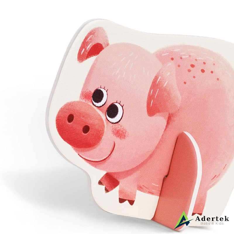 My First Puzzles Farm Animal Displayable Pig Puzzle